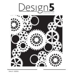 Design5 - Stencil - Gears