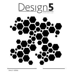 Design5 - Stencil - Hexagon