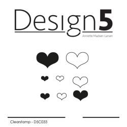 Design5 - Stempel - Hearts...