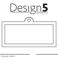 Design5 - Mini Slim Tag -...