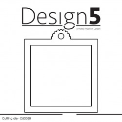Design5 - Square Tag - D5D020