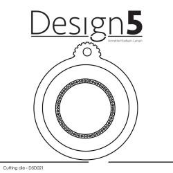 Design5 - Circle Tag - D5D021