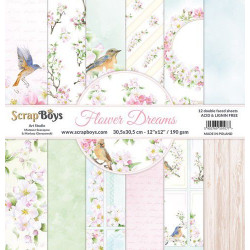 ScrapBoys - Papirblok 30x30...