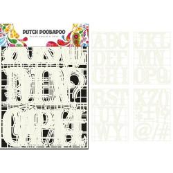 Dutch Doobadoo - Stencil...