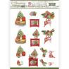 Pushout - Jeanine's Art - Christmas Cottage - Christmas Decoration - SB10590