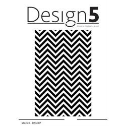 Design5 - Stencil - Zig Zag