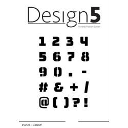Design5 - Stencil - Numbers