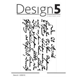 Design5 - Stencil - Script