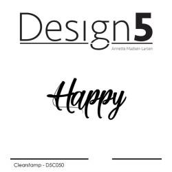 Design5 - Stempel - Happy -...