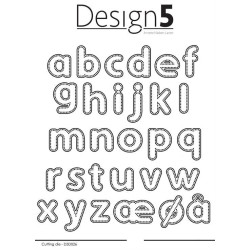 Design5 - Dotted Alphabet -...