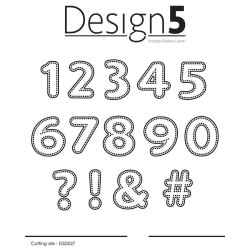 Design5 - Dotted Numbers -...
