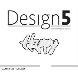 Design5 - Happy - D5D034