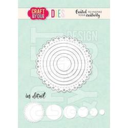 Craft & You - Mini Doily -...