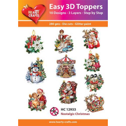 Easy 3D Toppers - Nostagic...
