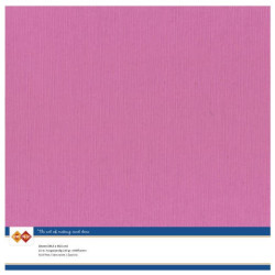 Card Deco Essentials - Linnen Karton 30x30 cm - Pink