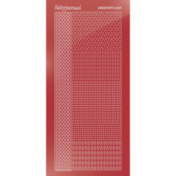 Hobbydots Serie 4 - Mirror Christmas Red