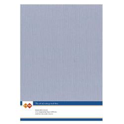 Card Deco Essentials - Linnen Karton A4 - Gammel Blå
