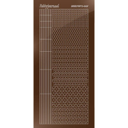 Hobbydots Serie 5 - Mirror Brown