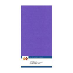 Card Deco Essentials - Linnen Karton 13.5x27 cm - Violet