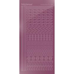 Carddeco karton - Hvid - 13,5x27cm