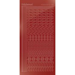 Carddeco karton - Lyseblå - 13,5x27cm