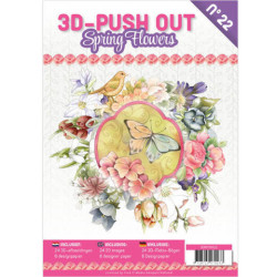 3D Push Out Book - Spring...