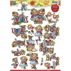 Yvonne Creations - Clowns -...