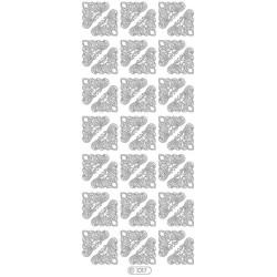 Starform 1017 - Hjørner I Sølv