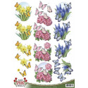 3D Pushout - Precious Marieke - Flowery - SB10102