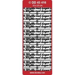 DD Stickers 45 416 - Tekst...