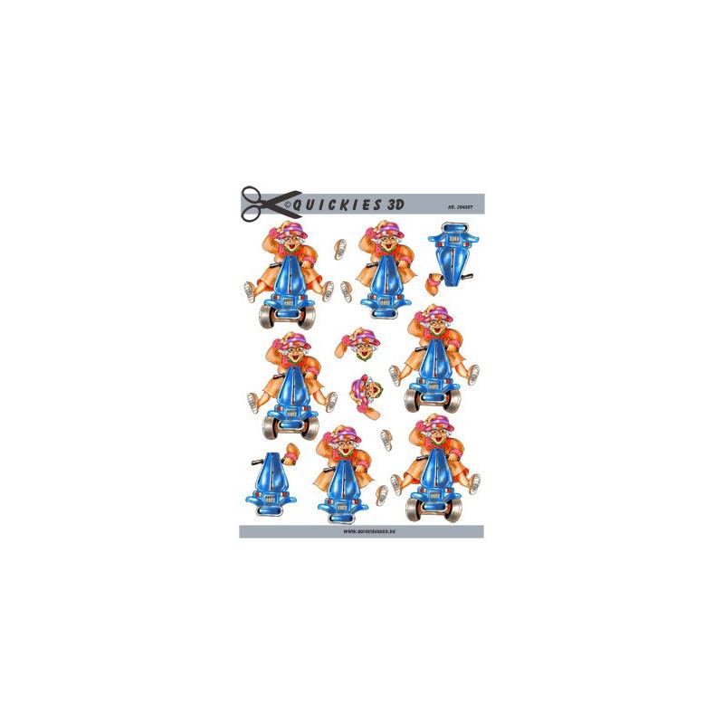 3D Pushout - Amy Design - Christmas Greetings - SB10112