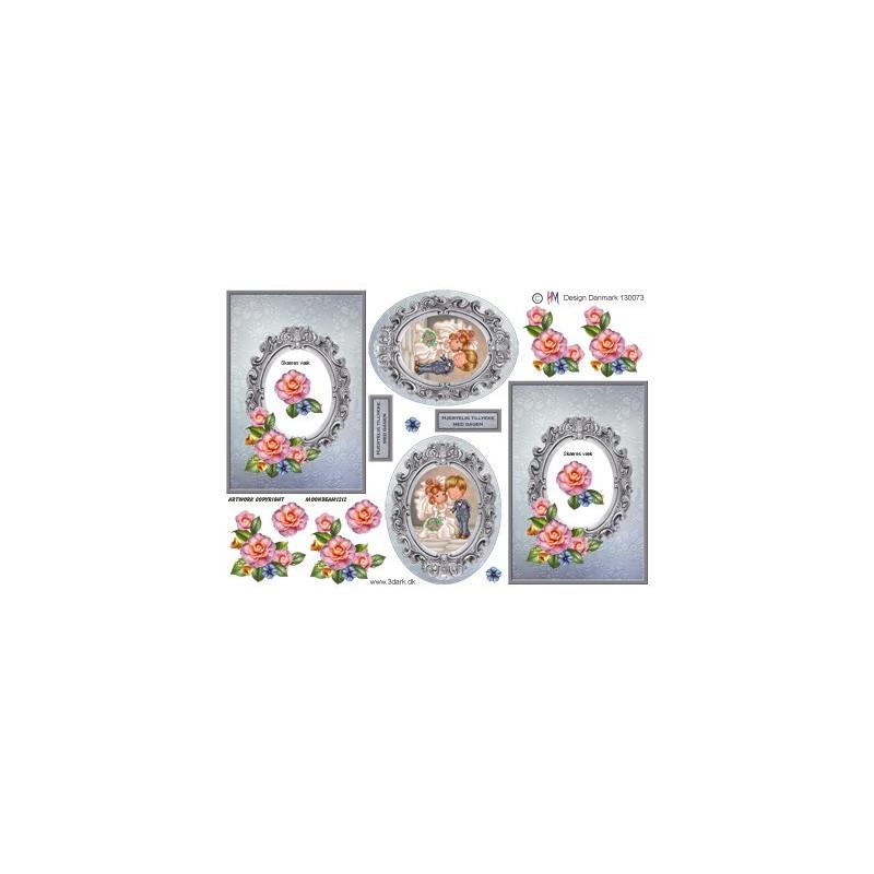 TBZ - Glimmer blomster - 203008