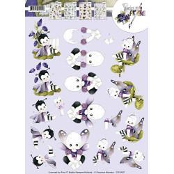 Yvonne Creations - Lieveheersbeestjes - CD10726