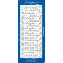 Starform 603 - Tekst I Sølv