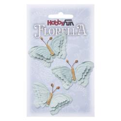 Florella Vlinders - Lyseblå