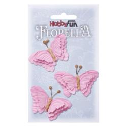 Florella Vlinders - Pink