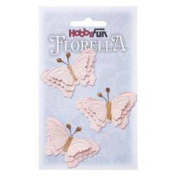 Florella Vlinders - Rosa