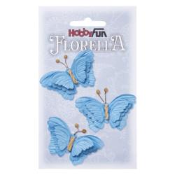 Florella Vlinders - Blå