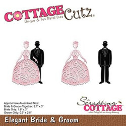 CottageCutz - Elegant Bride...
