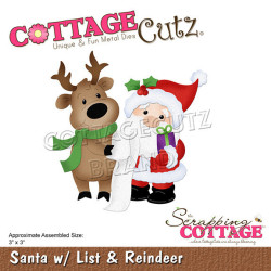 CottageCutz - Santa With...