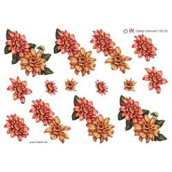 Ann Paper Art - Autumn Roses - APA3D014