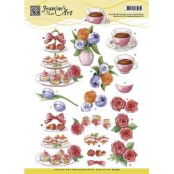 Jeanine's Art - High Tea -...