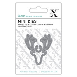 Xcut - Mini Die - Stag Head...
