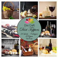 Dixi Craft - Toppers - Vin...