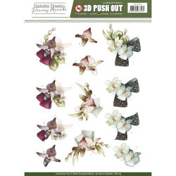 Precious Marieke - Fantastic Flowers - Butterflies - PM10095