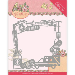 Yvonne Creations - Get Well Soon - Get Well Frame - YCD10100
