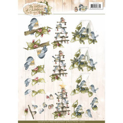 3D Pushout - Jeanines Art - Christmas Classics - SB10173
