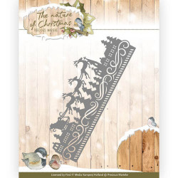 Jeanines Art - Christmas Classics - Star frame - JAD10006