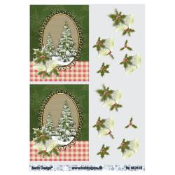 Jeanines Art - Christmas Classics - Christmas ornaments - JAD10010
