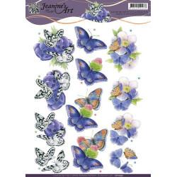 Jeanine's Art - Butterfly -...